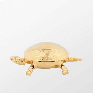 El Casco Altın Kaplama Kaplumbağa Çan