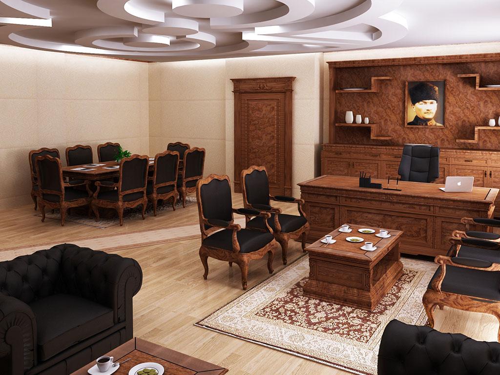 Antalya Valiliği Makam Odası